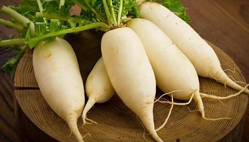 Củ cải trắng ngâm đường phèn