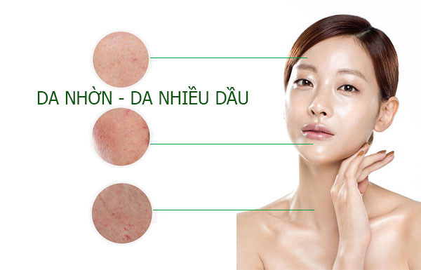 Làm cách nào để chăm sóc da nhờn nhưng lại bị thiếu nước?