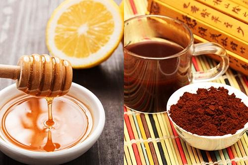 Nấm linh chi, mật ong, nước cốt chanh