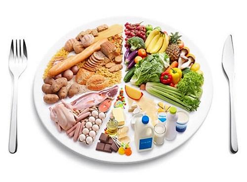 Duy trì chế độ ăn hợp lí