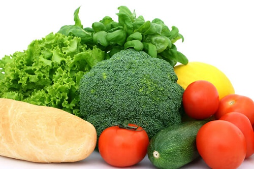Bổ sung thực phẩm màu xanh và đỏ tươi