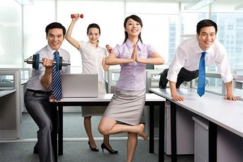 Bài tập giảm cân cho dân văn phòng