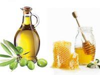 Làm đẹp tóc với mật ong và dầu oliu