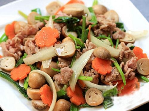 Cách làm món ăn từ nấm