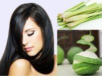Cách làm đẹp tóc bằng vỏ bưởi và sả