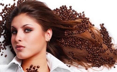 làm đẹp tóc bằng cà phê