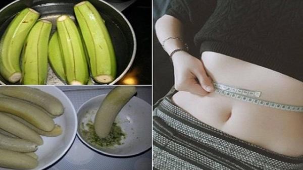Tác dụng của chuối xanh trong giảm cân