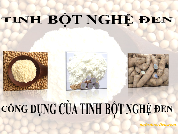 Tác dụng của tinh bột nghệ đen và mật ong nguyên chất