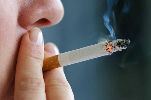 Thận yếu do thói quen hút thuốc