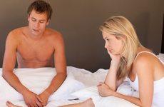 Yếu sinh lí làm nam giới thiếu tự tin trong mắt bạn tình