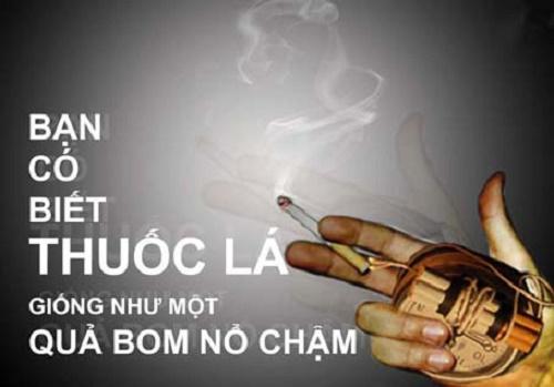 thuốc lá còn làm giảm số lượng tinh trùng