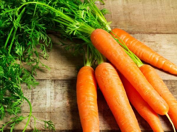 Cà rốt cân bằng và làm sạch độc tố gan