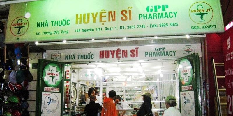 Nhà thuốc Huyện Sĩ tphcm bán thuốc chữa bệnh ở đâu?