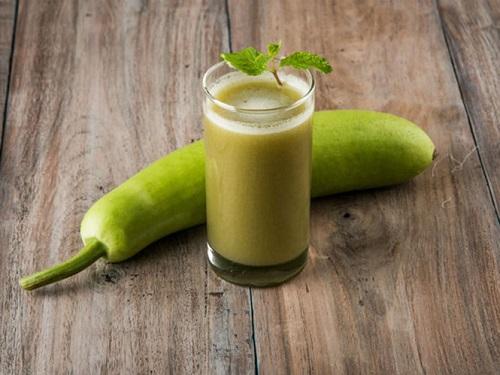 Bầu pha gừng là một thức uống bổ dưỡng