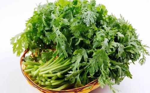 Các món ăn từ rau cải cúc tốt cho người cao huyết áp