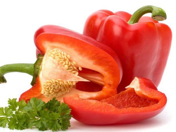 Ớt chuông đỏ - Thực phẩm có vị cay giúp bồi bổ thận