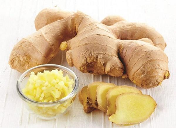 Gừng - Thực phẩm có vị cay giúp lọc bỏ chất độc hại trong thận