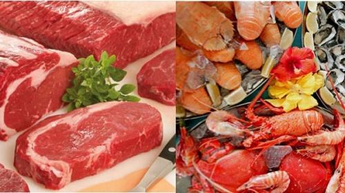 Các thực phẩm không kết hợp với thịt bò