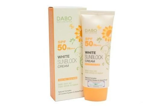 Kem chống nắng  Dabo White Sunblock Cream