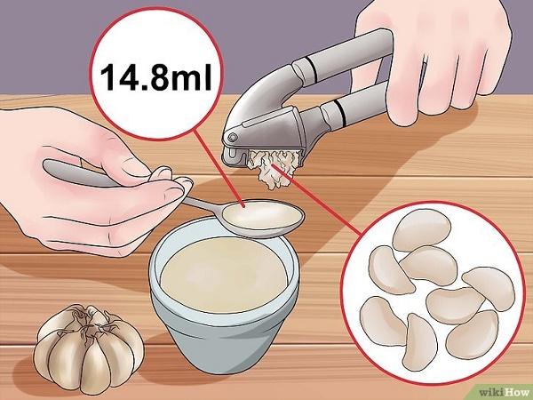 Tác dụng của tỏi đối với tóc rụng