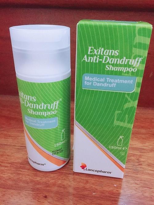 Công dụng của Lancopharm Exitans Anti - Dandruff Shampoo
