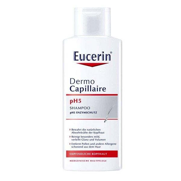 Dùng Eucerin Dermocapillaire Ph5 Mild gội đầu thường xuyên có tốt không?