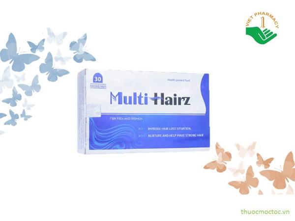 Thuốc mọc tóc Health Protect Food Multi Hairz có tốt không?