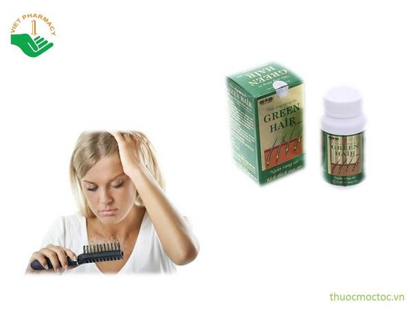 Viên uống mọc tóc Green Hair giá bao nhiêu?