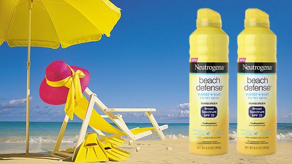 Xịt chống nắng Neutrogena Beach Defense Water SPF 70