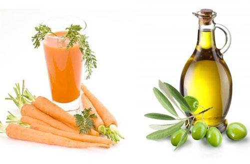Cách trị mụn an toàn và hiệu quả với nước ép cà rốt