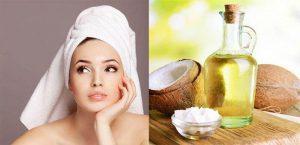 Phụ nữ sau sinh kích thích mọc tóc bằng dầu dừa
